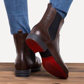 Boots Vintage Damen Chelsea Für Modetalente K1JlFTc