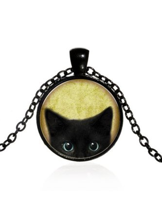 Fashion Katze Halskette