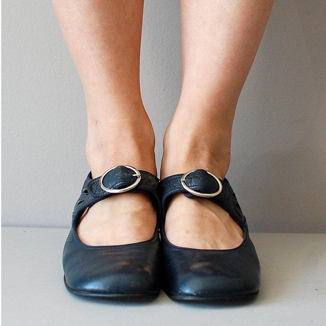 Retro Damen Schuhe