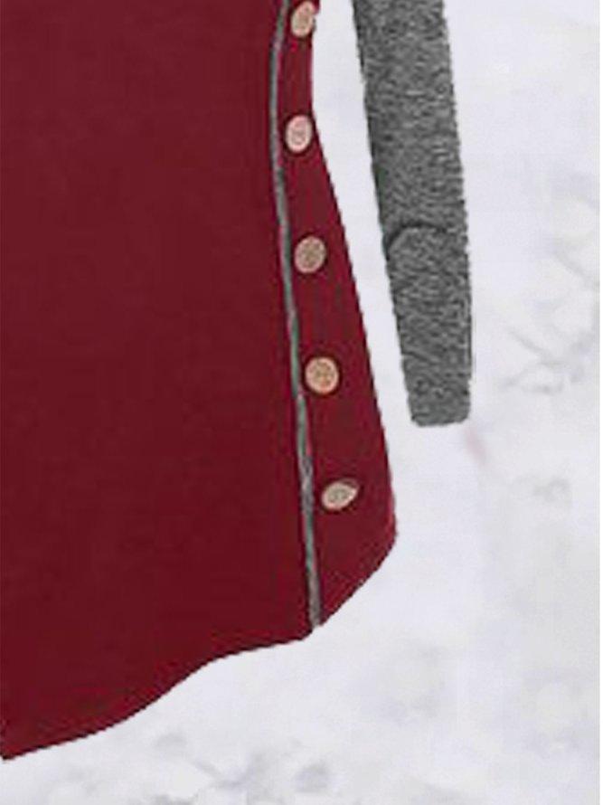 Jersey Schmale Kleider mit V-Ausschnitt   Kleider   Retro ...